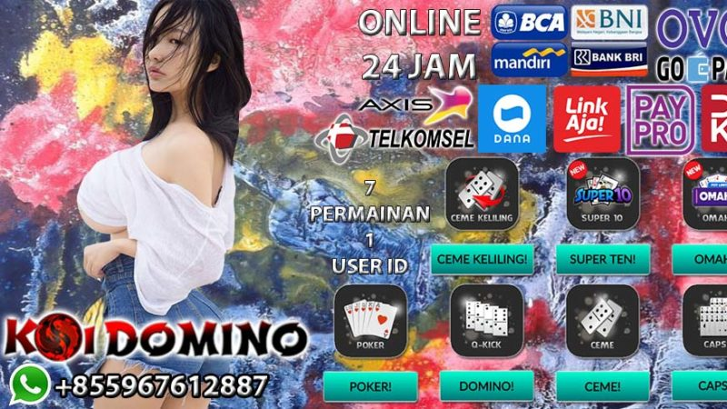 KOIDOMINO Agen Poker Terbaik Di Indonesia