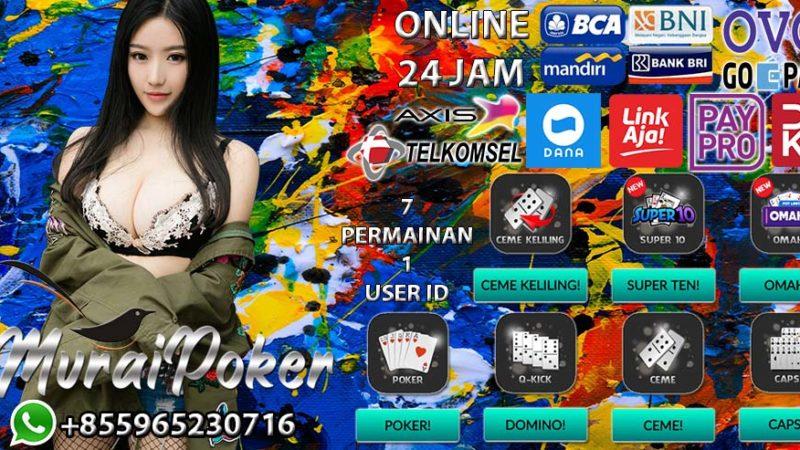 Agen Poker Pulsa Terbaik Di Indonesia 2020