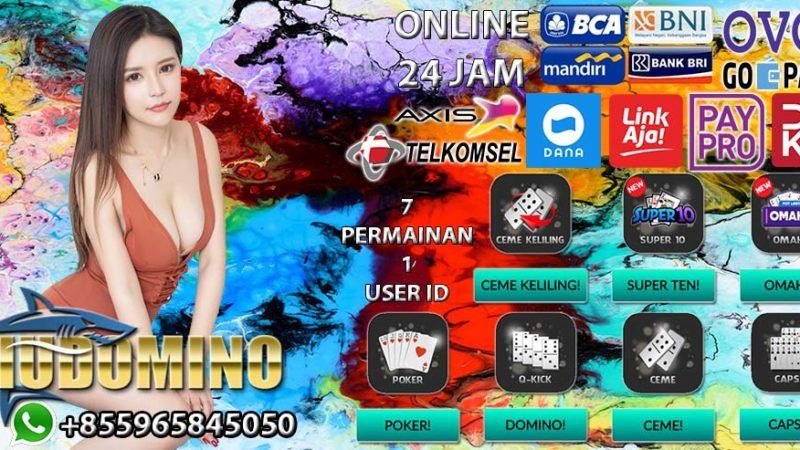 HIUDOMINO Situs Poker BCA 24 Jam Terbaik di Indonesia 2020