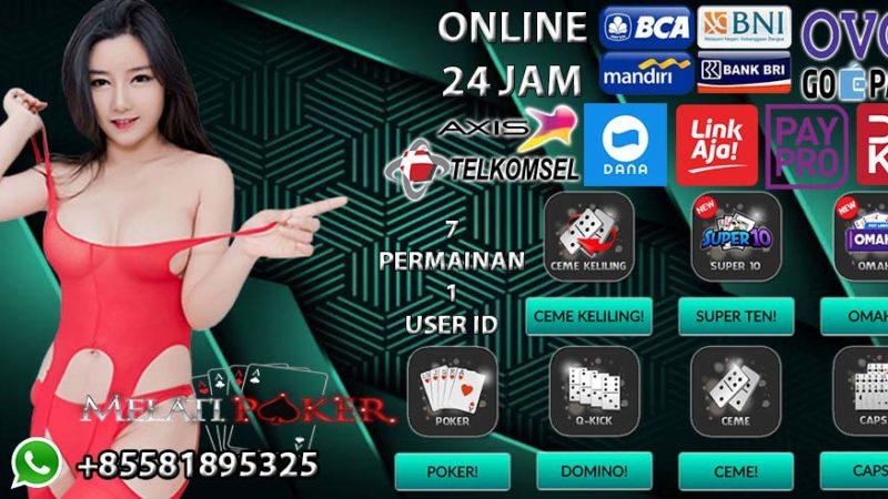 MELATIPOKER Situs Agen Poker BRI Online 24 Jam