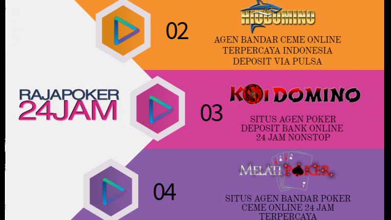 Kumpulan Poker Terpercaya Indonesia Deposit Rp 10.000